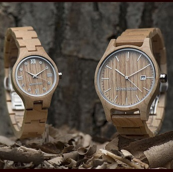 木製腕時計ウッドウォッチ
