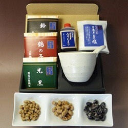 【竹・鉢付き3種食べ比べセット】