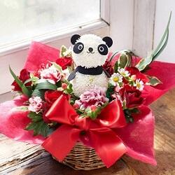 お花屋さんの花パンダ