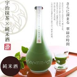 宇治抹茶×純米酒 500mL