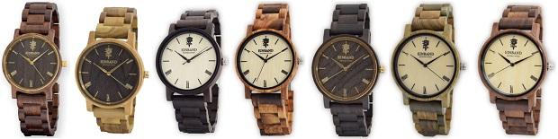 Reise 木製腕時計一覧