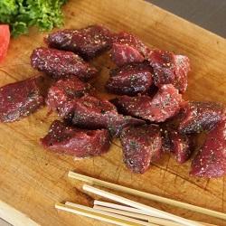 ミートガイ「味付けダチョウ肉」